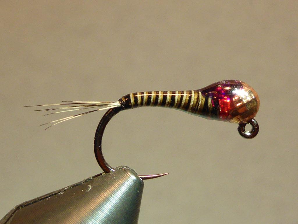 Nymphe perdigone utilisée lors des stages perfectionnement mouche ardèche